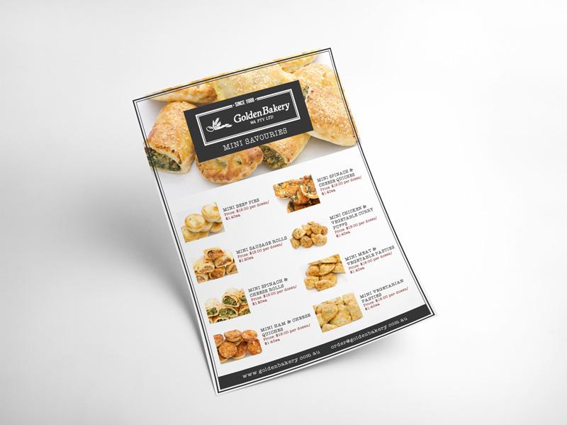 Golden Bakery Catering Brochure